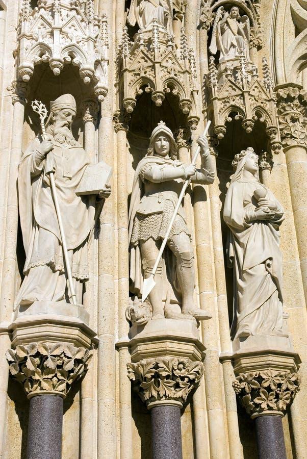 αγάλματα τρία στοκ φωτογραφία με δικαίωμα ελεύθερης χρήσης