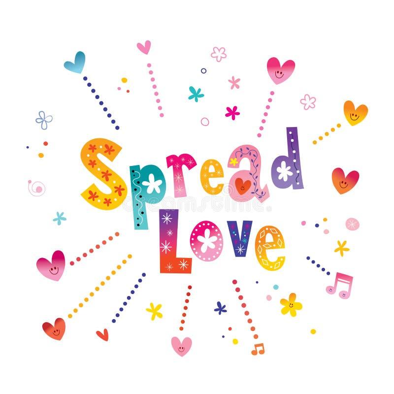 Αγάπη - απόσπασμα αγάπης εγγραφής χεριών απεικόνιση αποθεμάτων