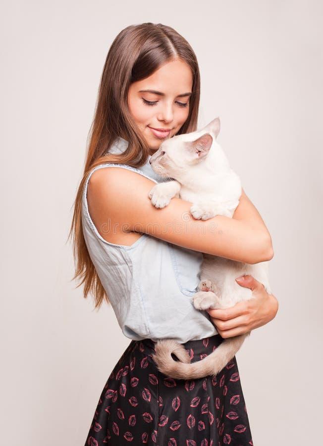 Αγάπη γατών στοκ φωτογραφίες με δικαίωμα ελεύθερης χρήσης