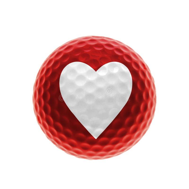 αγάπη γκολφ Στοκ Εικόνες