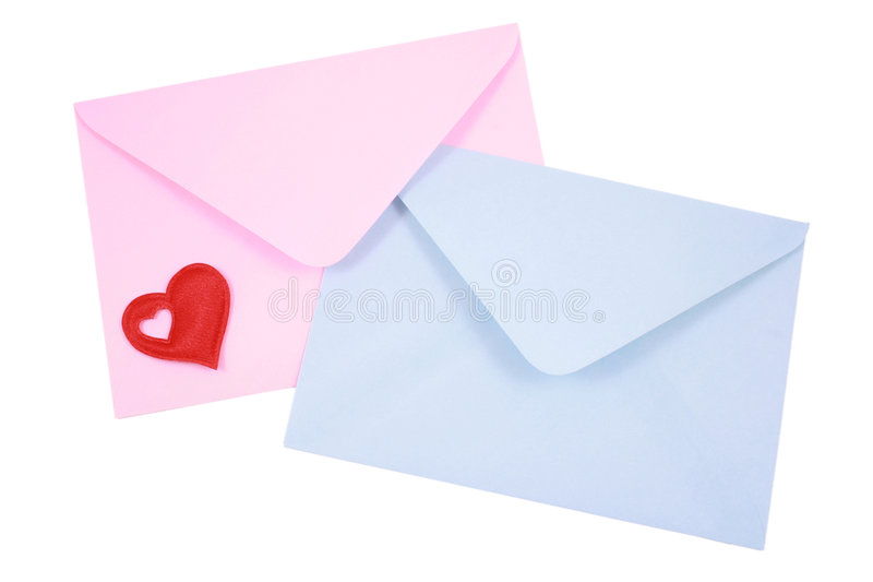 αγάπη επιστολών στοκ εικόνα με δικαίωμα ελεύθερης χρήσης