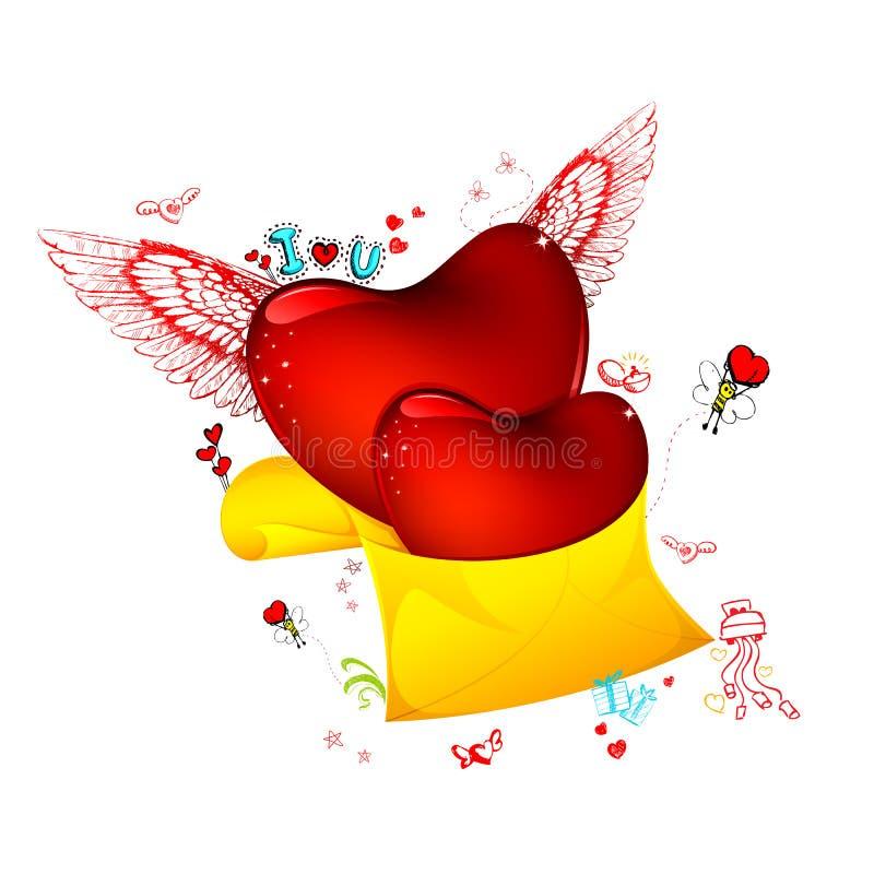Download αγάπη επιστολών διανυσματική απεικόνιση. εικονογραφία από κομψός - 22778330