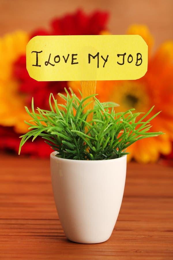 Αγάπη εργασίας στοκ εικόνες