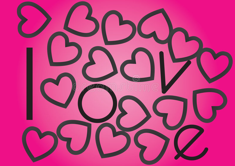 αγάπη καρδιών ελεύθερη απεικόνιση δικαιώματος