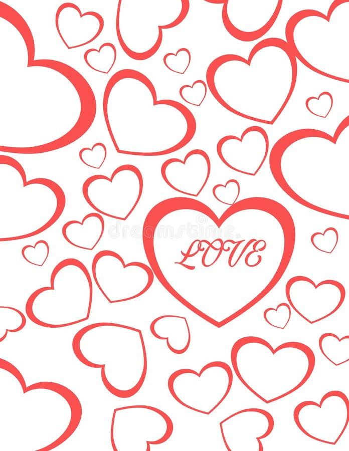 Αγάπη καρδιών βαλεντίνων για το ζεύγος στοκ φωτογραφία