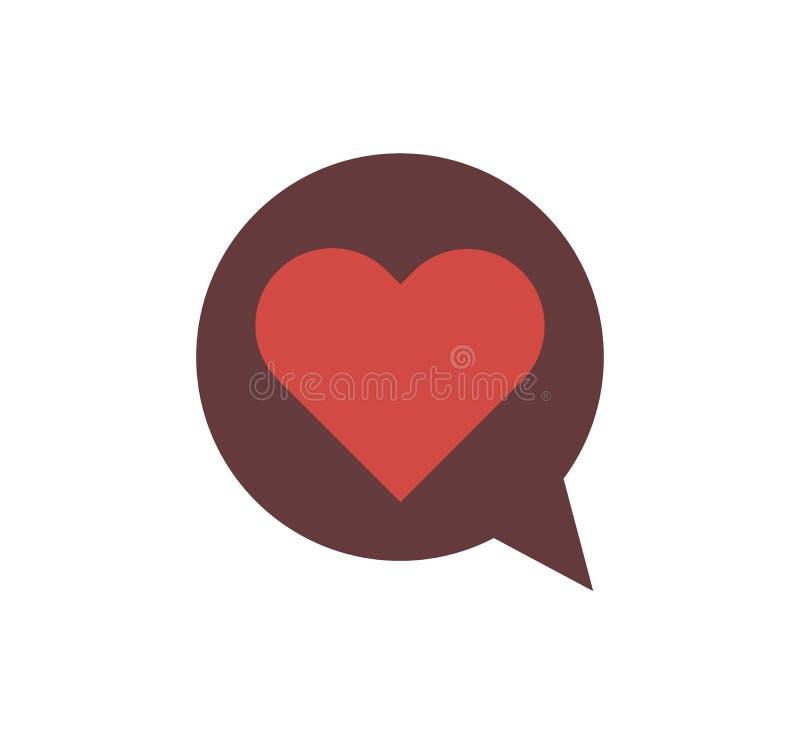 Αγάπη καρδιών στο άσπρο διάνυσμα υποβάθρου στοκ εικόνα