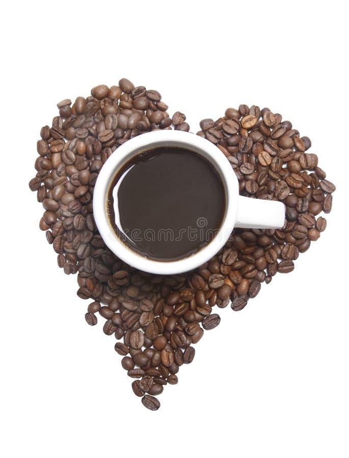 αγάπη καφέ στοκ εικόνες