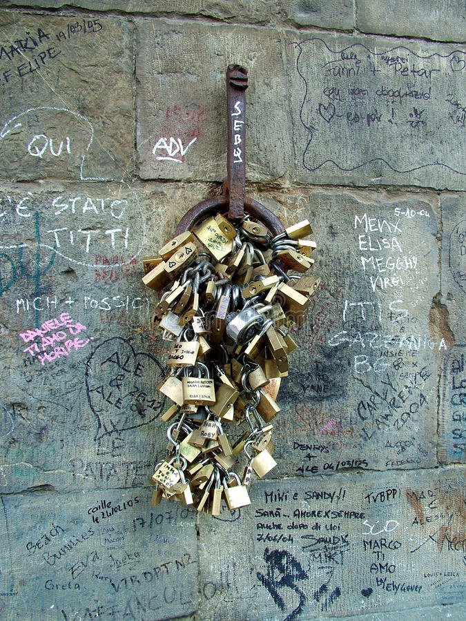 αγάπη κλειδωμάτων στοκ φωτογραφίες με δικαίωμα ελεύθερης χρήσης