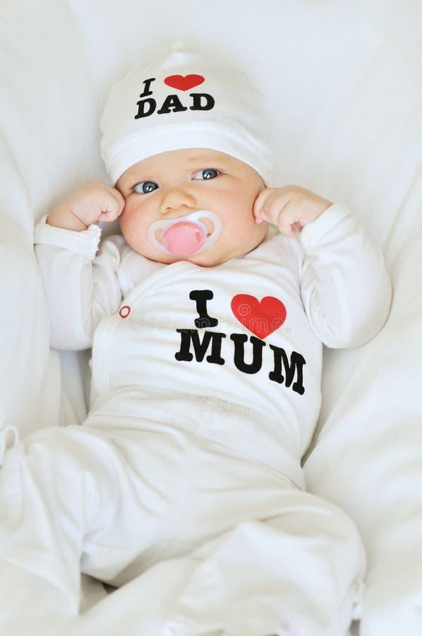 αγάπη μπαμπάδων mum στοκ φωτογραφία