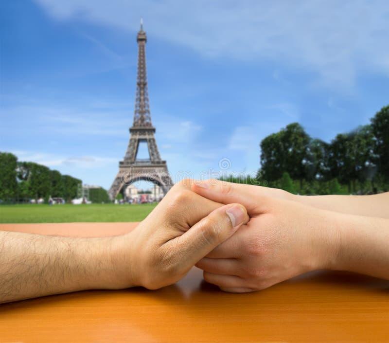 αγάπη Παρίσι στοκ φωτογραφία με δικαίωμα ελεύθερης χρήσης