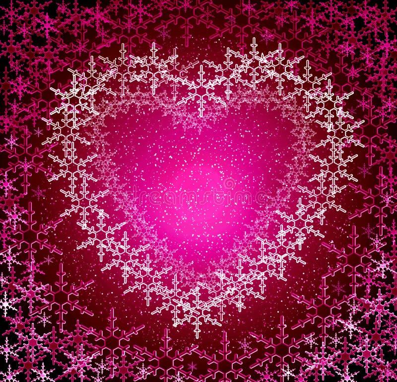 αγάπη πλαισίων Χριστουγέν&n ελεύθερη απεικόνιση δικαιώματος