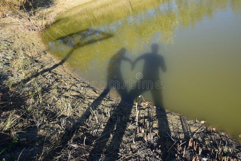 Αγάπη σκιών στοκ φωτογραφία με δικαίωμα ελεύθερης χρήσης