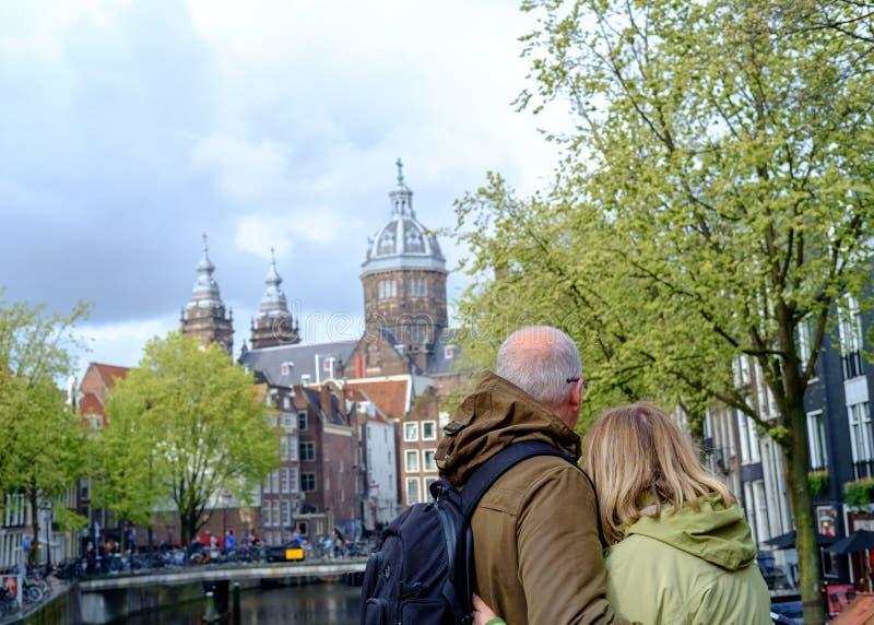Αγάπη στο Άμστερνταμ στοκ εικόνα με δικαίωμα ελεύθερης χρήσης