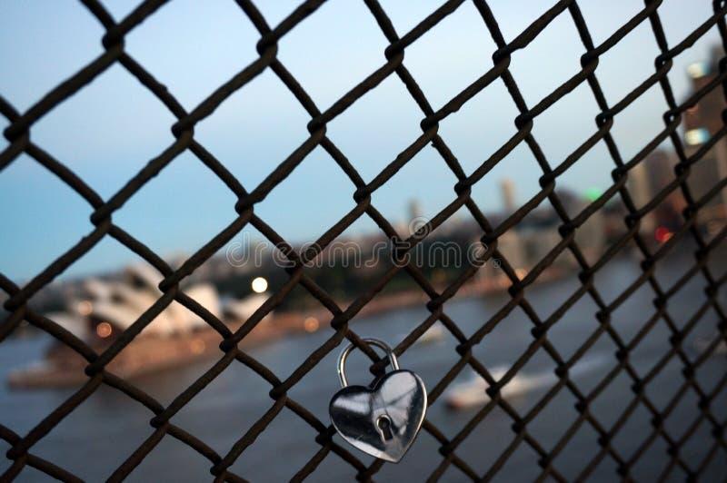 Αγάπη στο Σίδνεϊ στοκ εικόνα με δικαίωμα ελεύθερης χρήσης