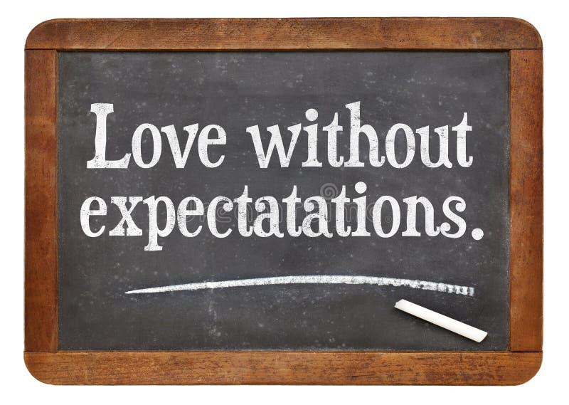 Αγάπη χωρίς προσδοκίες στοκ εικόνες