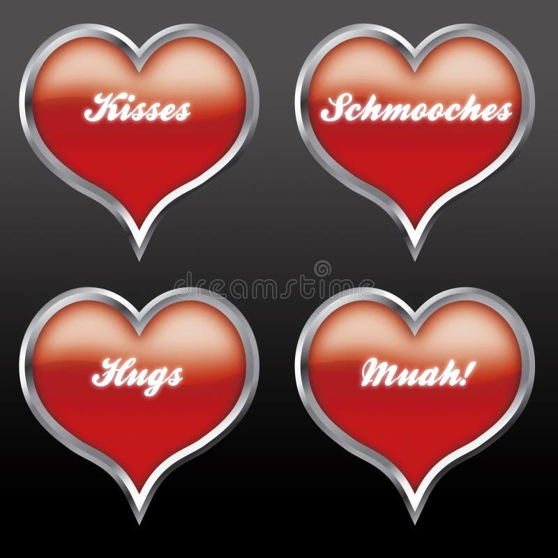 αγάπη 02 εκφράσεων απεικόνιση αποθεμάτων