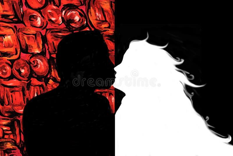 Download αγάπη απεικόνιση αποθεμάτων. εικονογραφία από φύλο, κόκκινος - 378553