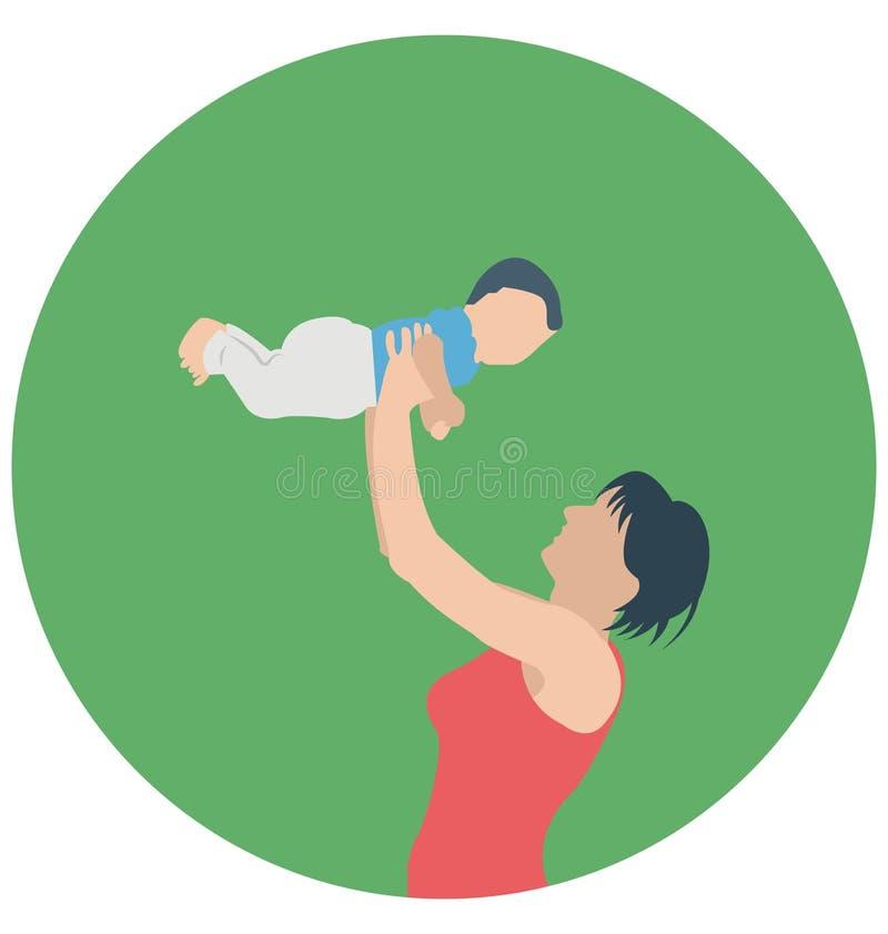 Αγάπη Mom, νήπιο που μπορεί να εκδοθεί εύκολα σε οποιοδήποτε μέγεθος ή να τροποποιηθεί ελεύθερη απεικόνιση δικαιώματος