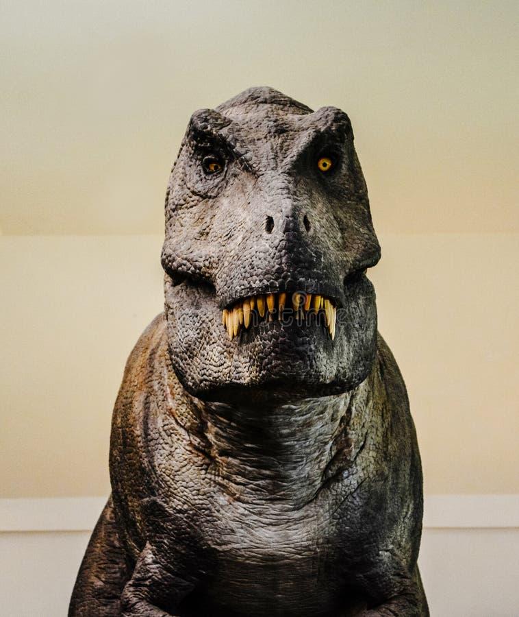 Αγάλματα δεινοσαύρων στοκ εικόνα με δικαίωμα ελεύθερης χρήσης