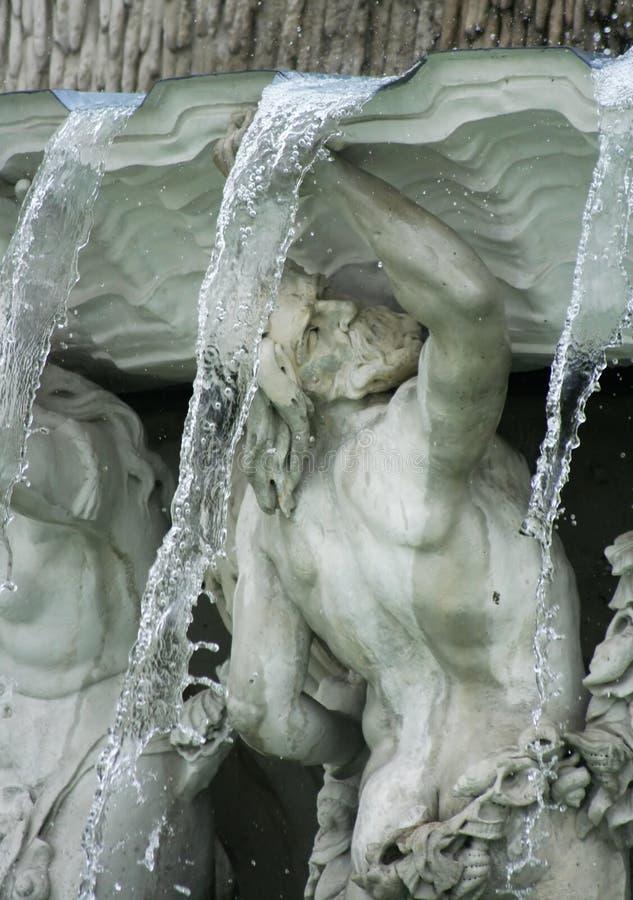 Αγάλματα στον πανοραμικό πυργίσκο στοκ εικόνα με δικαίωμα ελεύθερης χρήσης