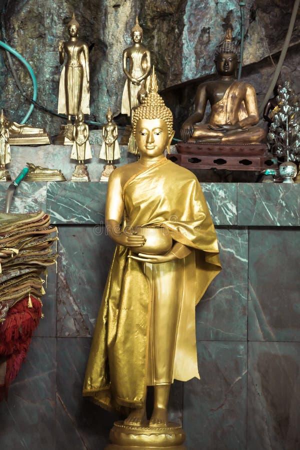 αγάλματα του Βούδα στοκ φωτογραφίες