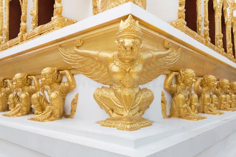 Αγάλματα Garuda και Hanuman στοκ φωτογραφίες με δικαίωμα ελεύθερης χρήσης