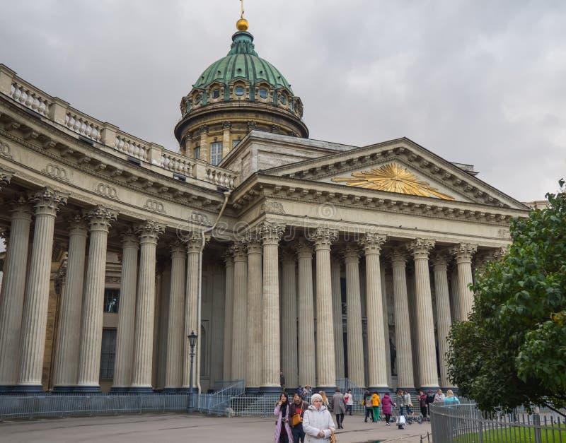 Αγία Πετρούπολη, Ρωσία - 10 Σεπτεμβρίου 2017: Kazan καθεδρικός ναός σε Άγιο Πετρούπολη, Ρωσία στοκ φωτογραφία με δικαίωμα ελεύθερης χρήσης