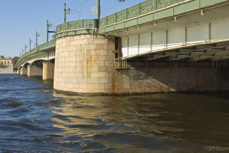 Αγία Πετρούπολη, γέφυρα Liteyniy στοκ φωτογραφίες