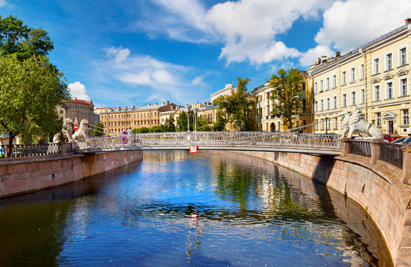 Αγία Πετρούπολη στοκ φωτογραφίες με δικαίωμα ελεύθερης χρήσης