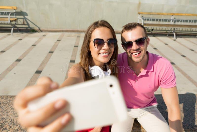 Αγαπάμε selfie στοκ φωτογραφία με δικαίωμα ελεύθερης χρήσης
