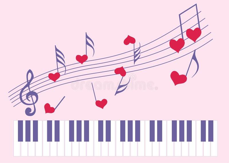 αγαπημένη μουσική διανυσματική απεικόνιση