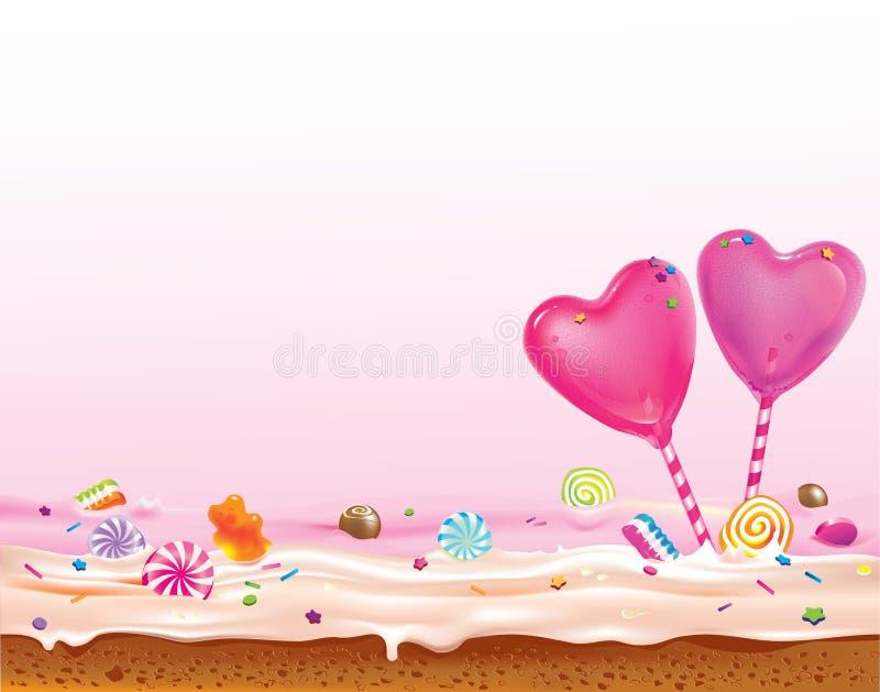 Αγαπημένοι lollipops ελεύθερη απεικόνιση δικαιώματος