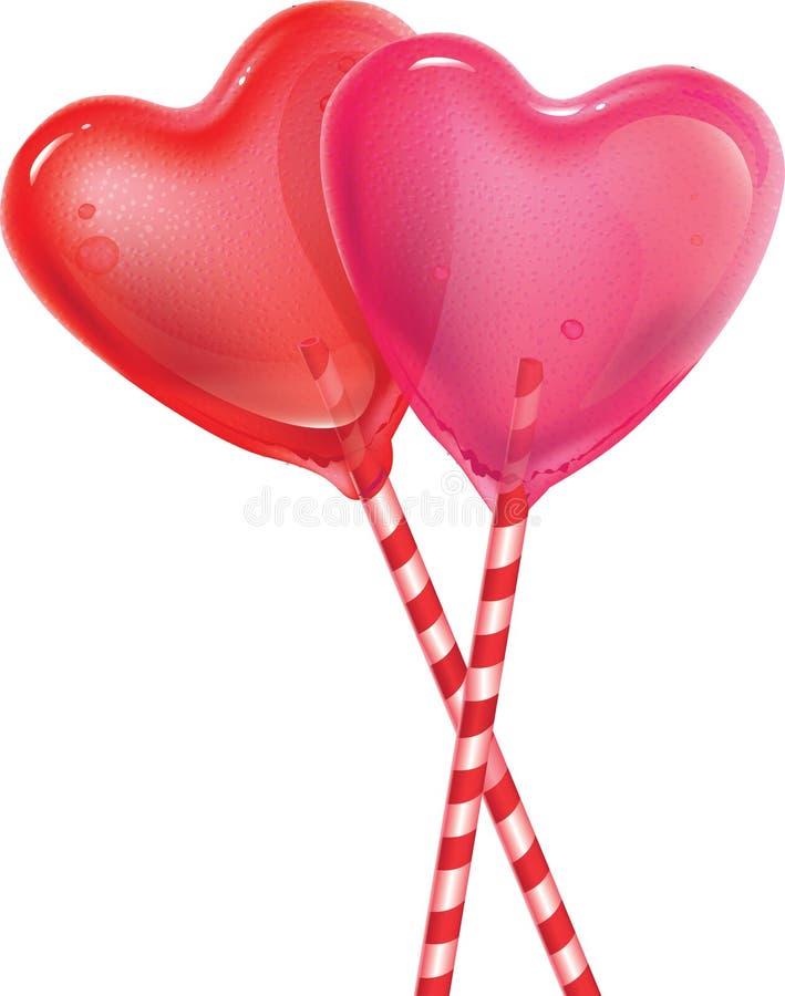 Αγαπημένος lollipop απεικόνιση αποθεμάτων