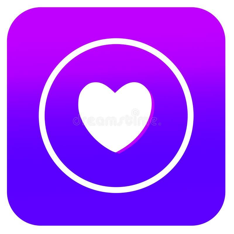 Αγαπημένο κουμπί μουσικής για App την ανάπτυξη διανυσματική απεικόνιση