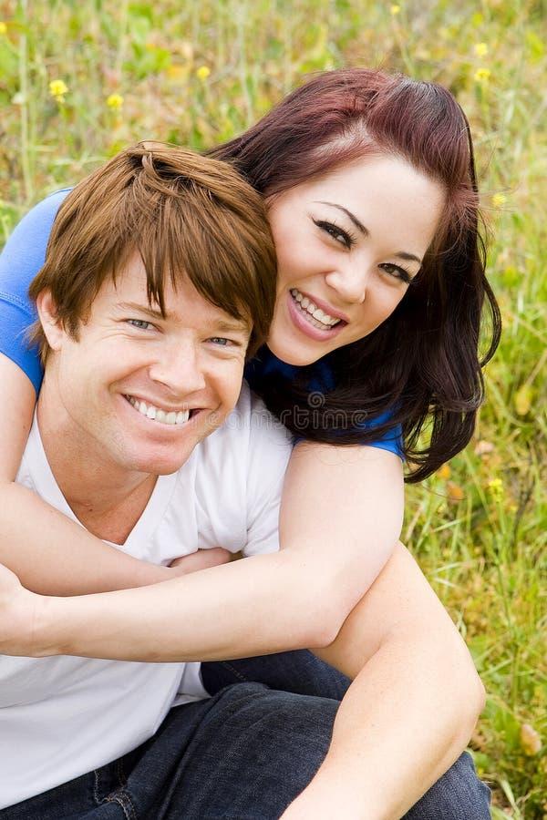 Αγαπώντας ζεύγος στοκ εικόνες με δικαίωμα ελεύθερης χρήσης