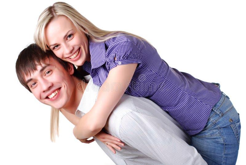 αγαπώντας νεολαίες ζε&upsilon στοκ εικόνες με δικαίωμα ελεύθερης χρήσης