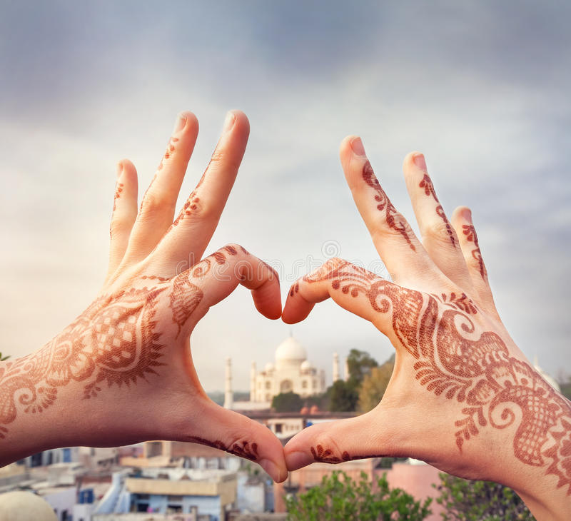 Αγαπώ την έννοια της Ινδίας στοκ φωτογραφίες με δικαίωμα ελεύθερης χρήσης