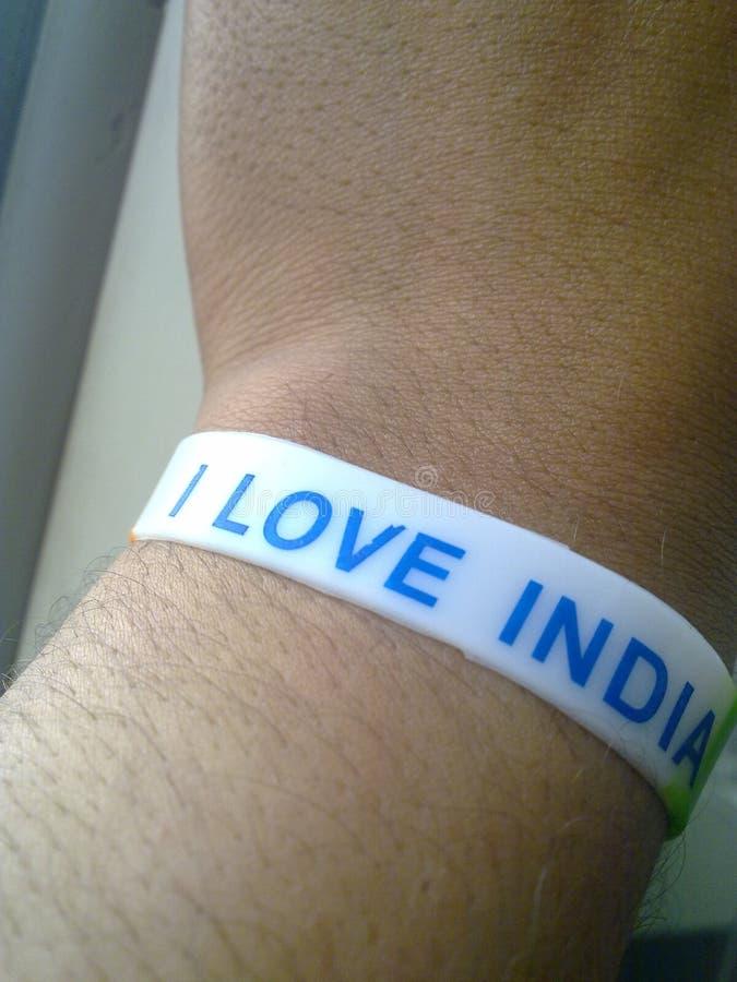 Αγαπώ την Ινδία μου στοκ εικόνα με δικαίωμα ελεύθερης χρήσης