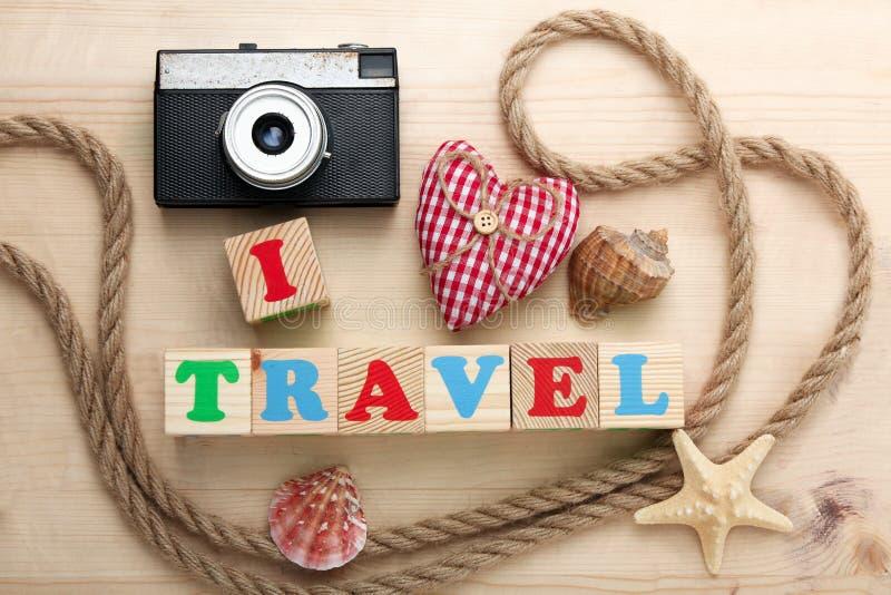 αγαπώ το ταξίδι στοκ εικόνες με δικαίωμα ελεύθερης χρήσης
