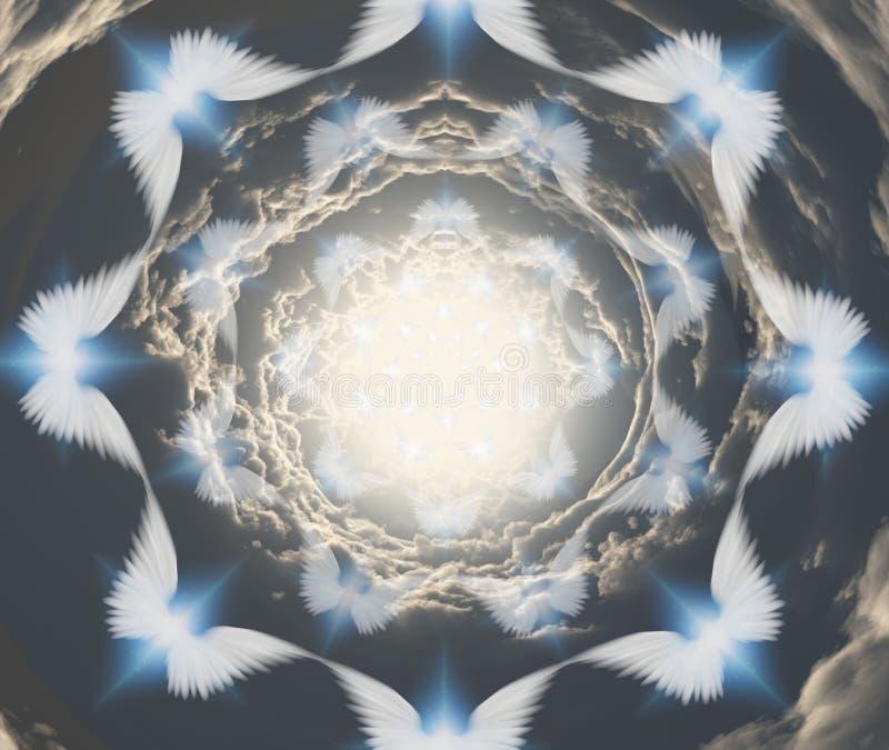 αγγέλων διανυσματική απεικόνιση