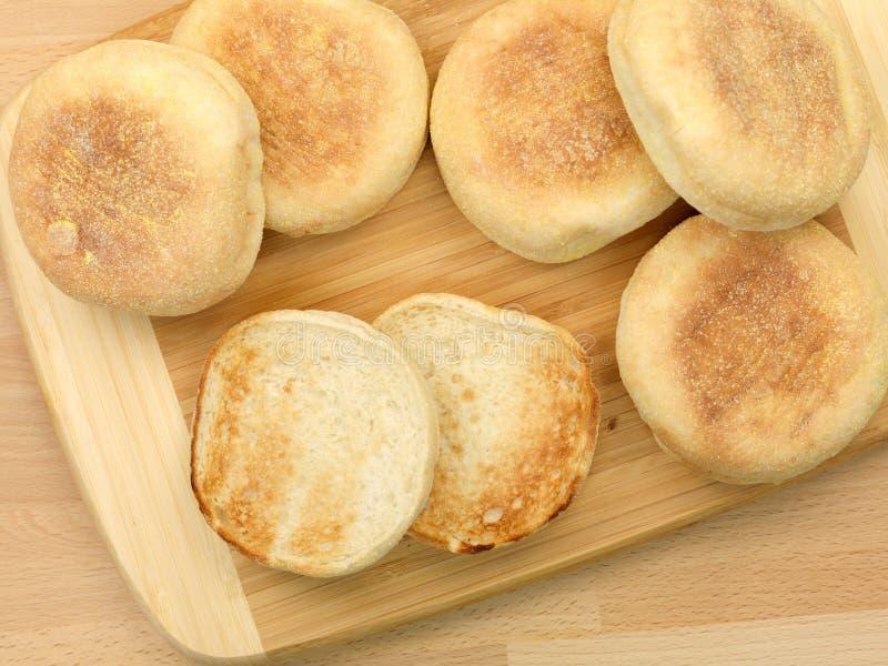 αγγλικά muffins στοκ φωτογραφίες