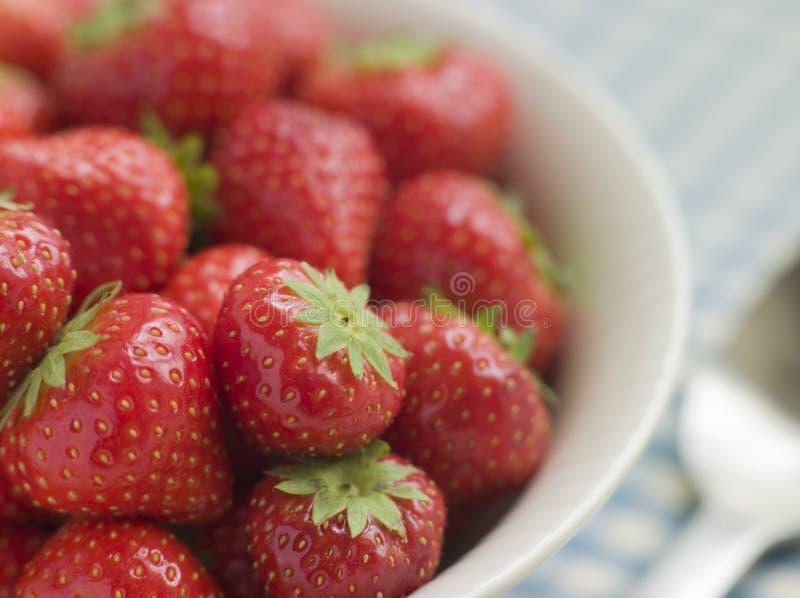 αγγλικές φράουλες κύπε&l στοκ φωτογραφίες