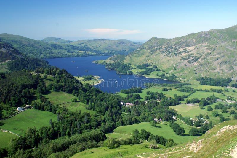 αγγλική λίμνη περιοχής ullswater στοκ φωτογραφία με δικαίωμα ελεύθερης χρήσης