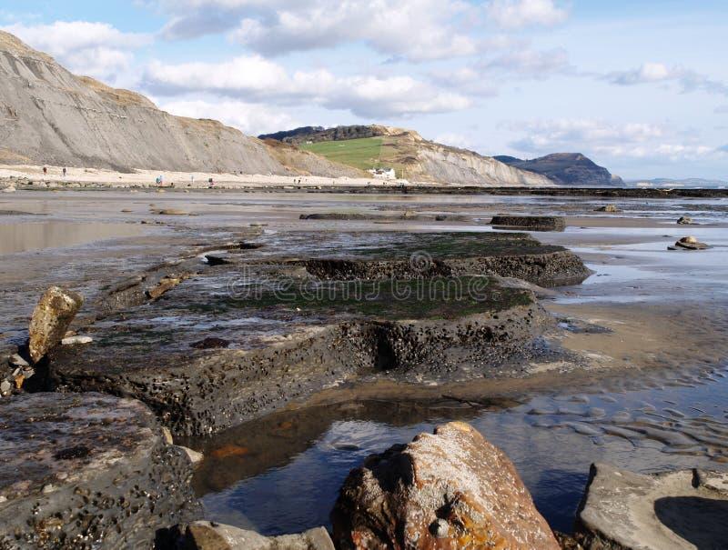 αγγλικός jurassic ακτών στοκ φωτογραφία με δικαίωμα ελεύθερης χρήσης