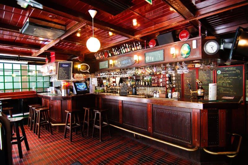 αγγλικό μπαρ Tampere της Φινλαν&del στοκ φωτογραφία με δικαίωμα ελεύθερης χρήσης