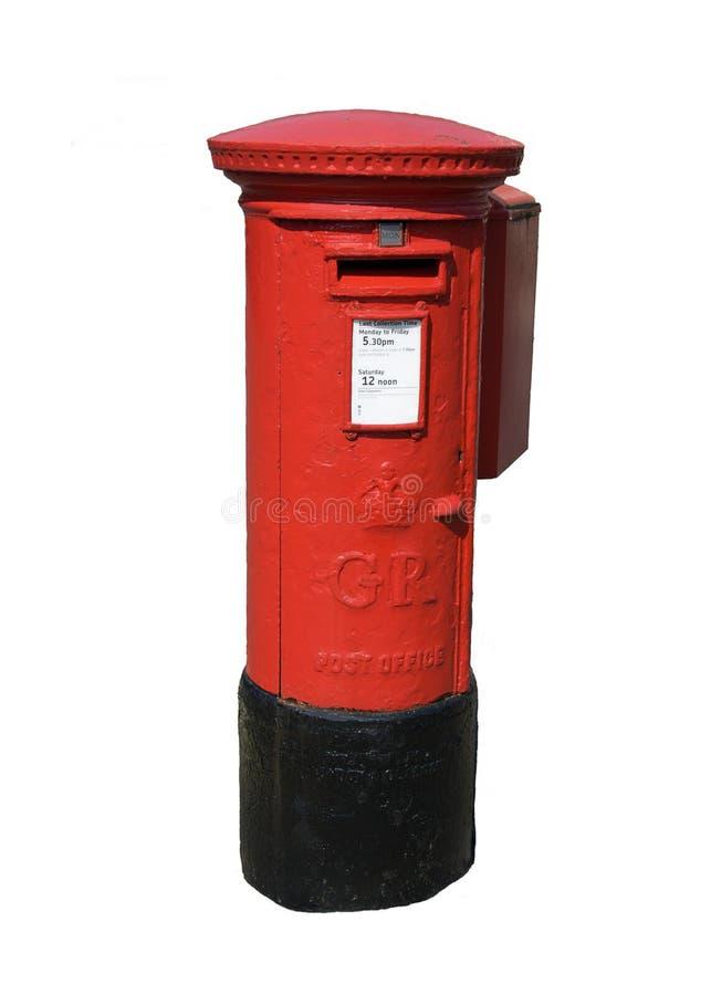 αγγλικό ταχυδρομείο κιβωτίων στοκ φωτογραφίες