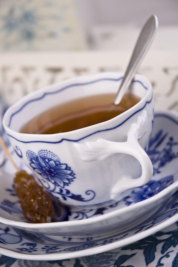 αγγλικό τσάι φλυτζανιών στοκ φωτογραφίες με δικαίωμα ελεύθερης χρήσης