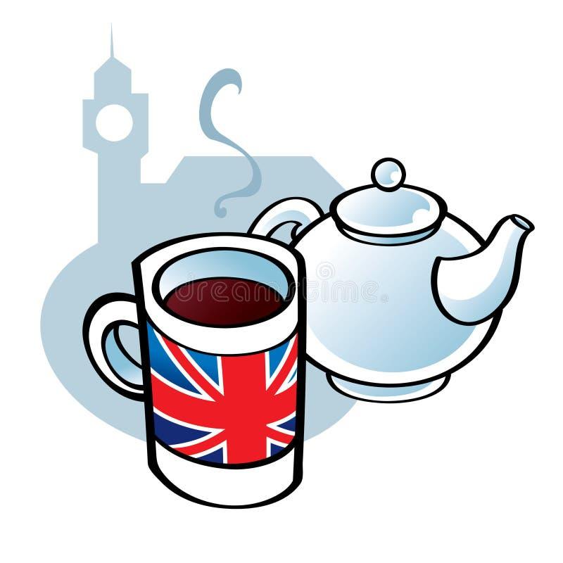 αγγλικό τσάι ελεύθερη απεικόνιση δικαιώματος