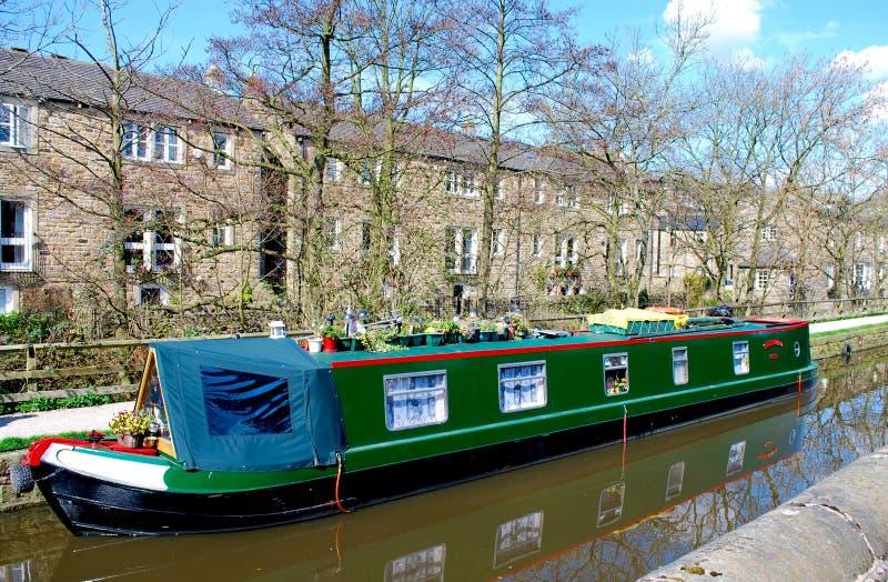 Αγγλική βάρκα καναλιών στοκ φωτογραφία με δικαίωμα ελεύθερης χρήσης