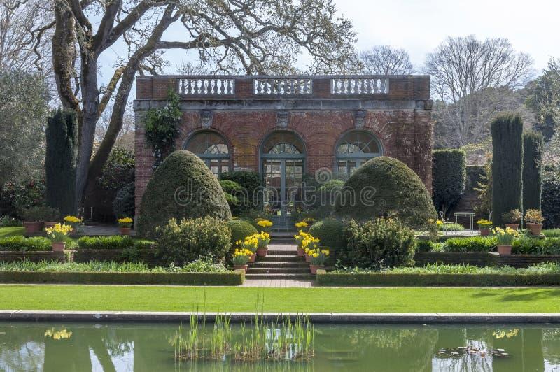 Αγγλικός κήπος στοκ φωτογραφία